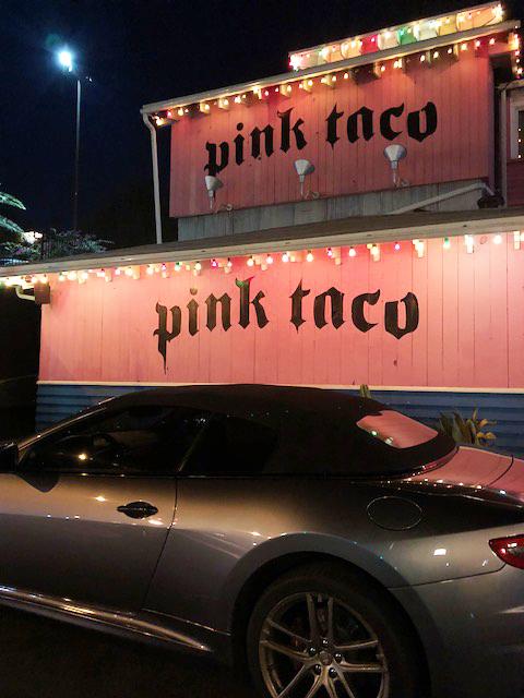 Pink Taco Exterior